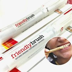 Teeth Whitening Stick by Friendly Brush Miswak - Natural, Effective, Fast Acting Tooth Whitening Kit.100% Guaranteed. (Retail Pkg. Included 1 Stick   BONUS) >>> See this great product.