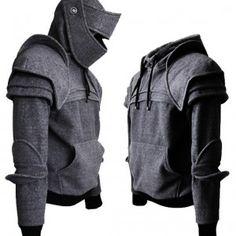 The tailored Knight Hoodie by IAMKNIGHT! So Sickkkkk!