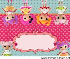 Lalaloopsy Free Printable Mini Kit. | Oh My Fiesta! in english