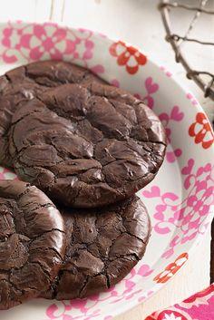 Flourless Fudge Cookies   Recipe