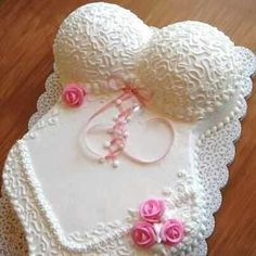 What a Fun Lingerie Shower Cake