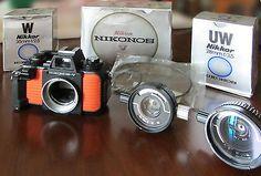 FOTOCAMERA SUBACQUEA NIKONOS V + NIKKOR 35mm F2.5 + NIKKOR 28mm F3.5 €450