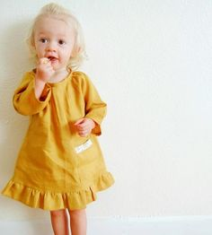 Toddler Linen Tunic Dress   Play dress up with your little lady every day with this toddle...   Baby & Toddler Clothing