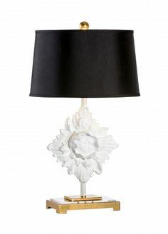 MANTEL ROSETTE LAMP