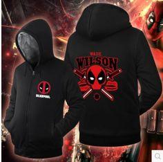 >> Click to Buy << anime Deadpool Masks Balaclava death Cosplay Costume thicken fleece jacket coat hoodie #Affiliate