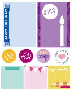 Free printable: They Say It's Your Birthday!