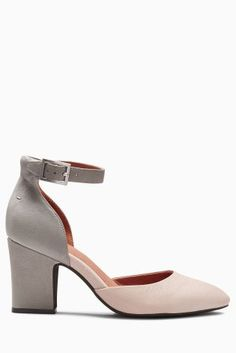 Buy Mink Signature Leather Two Part Shoes from the Next UK online shop