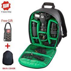 Tigernu New Pattern DSLR Camera Backpack for Camera d3200 d3100 d5200 d7100