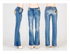 Petite Wide leg Brazilian jeans