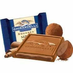 Ghirardelli Chocolate Squares Truffle 430 Count
