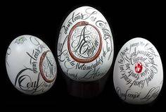 illustration œuf calligraphie et serpent et pierre précieuse Florence Gendre
