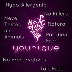 Our products have so many benefits and they are NOT tested on animals!