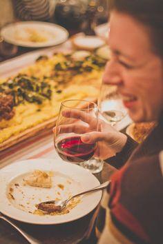 An Italian Polenta Supper: The Party Plan