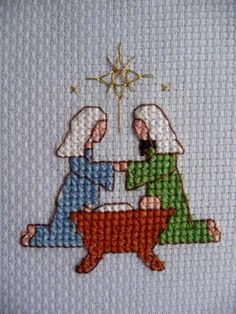 Mary Joan Stitching: Finishes for 2010 Cross Stitch Christmas Cards, Cross Stitch Cards, Christmas Cross, Cross Stitching, Embroidery Art, Cross Stitch Embroidery, Cross Stitch Patterns, Small Cross Stitch, Cute Cross Stitch