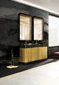 Top Luxury and and Exquisite mirrors ➤ Exploring the most luxury and exquisite mirrors by the top luxury brands. Discover more at www.bestdesignguides.com! @bestdesignguides #bestdesignguides #designguides #livingroomtrends @bocadolobo @brabbu @essentialhome @luxxu