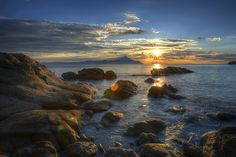Greece sunset_Sarti