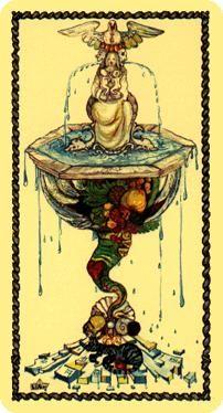 IronSide's Tarot: Medieval Scapini Tarot - Ace of Cups