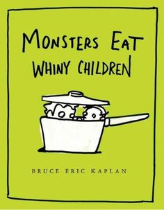 Monsters Eat Whiny Children (Hardcover), Red
