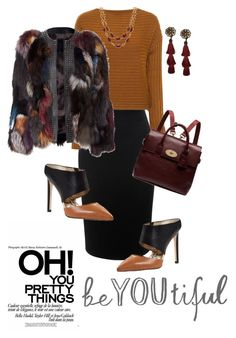 """""""Untitled #660"""" by belinda54-1 on Polyvore featuring Alexander McQueen, TIBI, Sam Edelman, Mulberry and Talbots"""