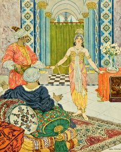 pinterest.com/christiancross     Arabian Nights Leon Carre