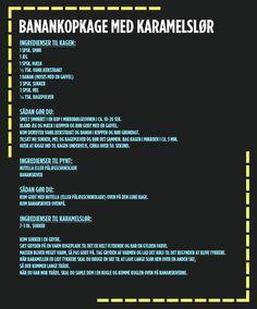 Opskrift: Kopkage - Banankage - dr.dk/Ultra/Ultras Sorte Kageshow