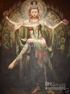 Kwan Yin is the very important pan-Asian goddess. She is the goddess of mercy and compassion who looks into our cries of suffering and sees what she can do. Call on her today!