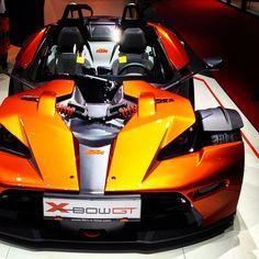 Sunset Orange KTM XBOW GT!