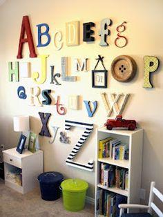 Alphabet Room