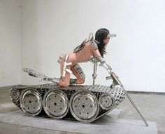 Metal tank girl