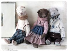 Claudia -collection October Mood By Anna Bratkova - Bear Pile