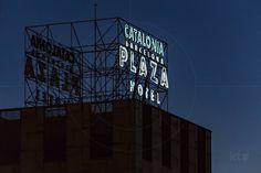 Sign of Catalonia Barcelona Plaza Hotel Barcelona Catalonia Spain…