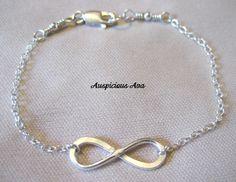Sterling silver infinity bracelet www.reneewayne.weebly.com