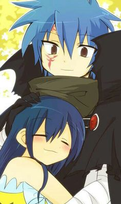 Jellal, Wendy, blushing, cute; They look like they have a sibling relationship