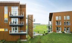 Commercial - Hôtel Germain (Baie St-Paul) The design of this hotel complex is enhanced by Maibec's genuine wood siding. Exterior Design, Interior And Exterior, Qc Canada, Baie St Paul, Board And Batten Siding, Wood Siding, Natural Beauty, Commercial, Contemporary