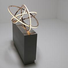 Falling | Light Sculpture | Niamh Barry - Contemporary International Artist & Light Sculptor