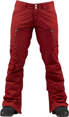 Burton Gemma Pants Biking Red
