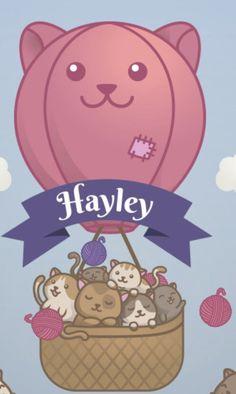 Felt Name Banner, Name Banners, Baby Names, Hello Kitty, Family Guy, Clip Art, Kawaii, Fictional Characters, Paisajes