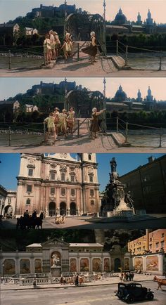 The beauty of Salzburg, Austria with music in the background, and Maria and the Von Trapp children in the foreground. Wise is undoubtedly presenting to the audience a visual feast. The Sound of Music 1965