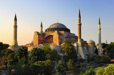 Vue générale Sainte-Sophie, Istanbul