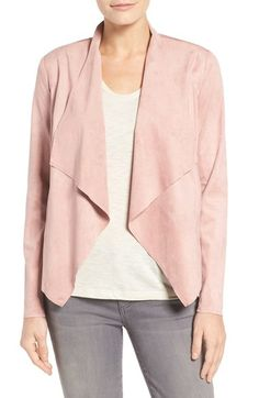 KUT from the Kloth Tayanita Faux Suede Jacket available at #Nordstrom