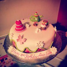 My daughters beautiful tea party cake!!