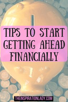 A lot of people seem to struggle when it comes to getting a hold on their finances and managing their money. Luckily, there are a lot of things you can do to turn your financial situation around and get ahead financially. Here are some tips to help you do just that!