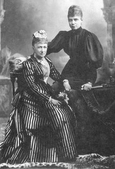 Queen Louise and Princess Thyra of Denmark | Grand Ladies | gogm