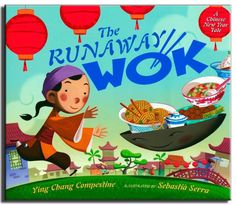 The Runaway Wok: A Chinese New Year Tale by Ying Chang. I love this one for teaching my ESL kids. A lovely old folktale with a Chinese twist. Fun illustrations and a great moral lesson for kids.