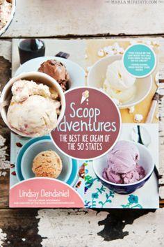 Peanut Butter & Jelly Ice Cream | Scoop Adventures Cookbook GIVEAWAY | FamilyFreshCooking.com