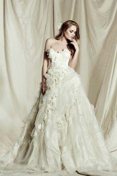 A wedding dress fit for a princess bride! | Bridal Musings