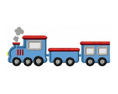 Valentine Applique Design Train with Heart by allthingsapplique