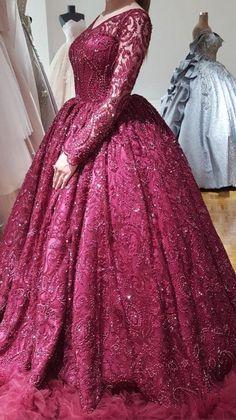 Maroon Prom Dress, Burgundy Dress, Burgundy Quinceanera Dresses, Colored Wedding Dress, Wedding Bridesmaid Dresses, Prom Dresses, Princess Ball Gowns, Traditional Wedding Dresses, Burgundy Wedding