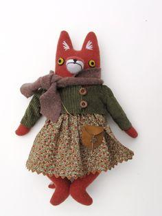 Art doll by Mimi Kirchner on Etsy