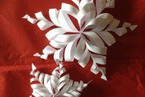 Fiocchi Di Neve Di Carta 3d : Besten fiocchi di neve di carta bilder auf
